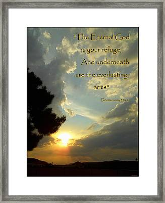 Eternal God Framed Print by Glenn McCarthy Art and Photography