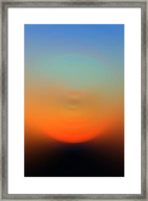 Eternal Light - Energy Art By Sharon Cummings Framed Print by Sharon Cummings