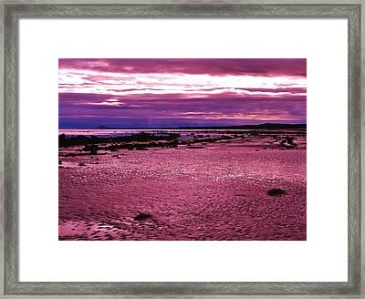 Eternal Tides Framed Print by Barbara St Jean