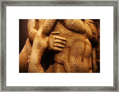Eternity Framed Print by Lucy D