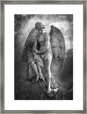 Eternity Framed Print by Marc Huebner