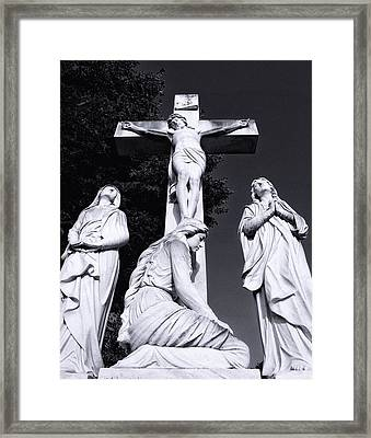 In Mourning...three Framed Print by Tom Druin