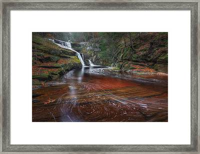Ethereal Autumn Framed Print by Bill Wakeley