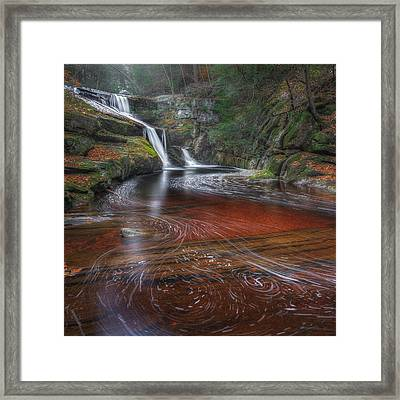 Ethereal Autumn Square Framed Print by Bill Wakeley