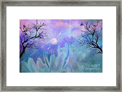 Ethereal Love Framed Print by Sherri  Of Palm Springs