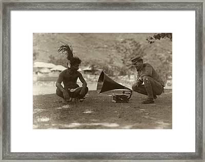Ethnography In The Philippines Framed Print by American Philosophical Society