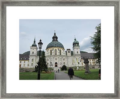 Ettal Abbey Framed Print by Pema Hou