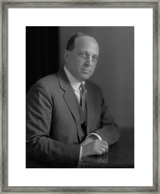 Eugene Isaac Meyer, American Financier Framed Print by Everett