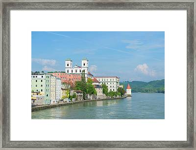 Europe, Germany, Bavaria, Passau Framed Print by Jim Engelbrecht