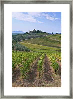 Europe, Italy, Tuscany, Chianti Framed Print by Rob Tilley