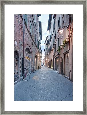 Europe, Italy, Tuscany, Lucca, Street Framed Print by Rob Tilley