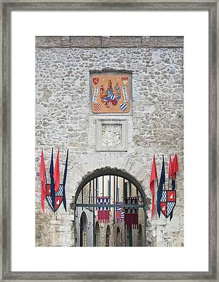 Europe, Italy, Umbria, San Gemini, City Framed Print by Rob Tilley