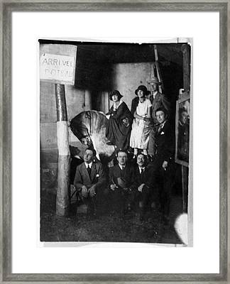 European Surrealists Framed Print by Cci Archives
