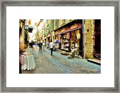 Euroscape - 5 Framed Print by Wayne Pascall
