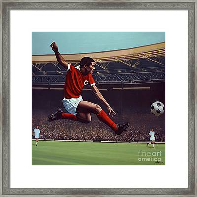 Eusebio Framed Print by Paul Meijering