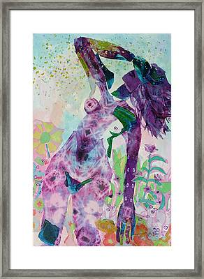 Evanescence Framed Print by Diane Fine