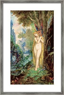 Eve Framed Print by Gustave Moreau