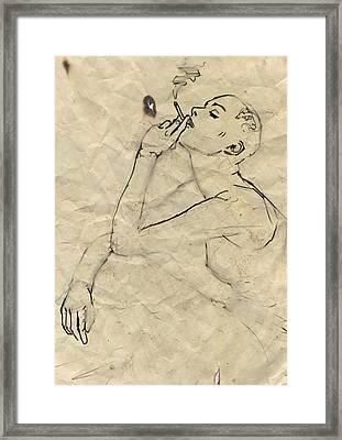 Eve Framed Print by H James Hoff