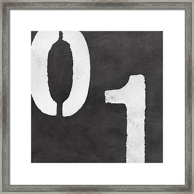 Even And Odd Numbers Framed Print by Linda Woods