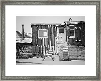 Even The Ghosts Have Gone Framed Print by Odd Jeppesen