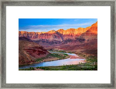Evening At Cardenas Framed Print by Inge Johnsson