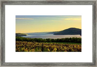 Evening Falls Framed Print by Glenn Curtis