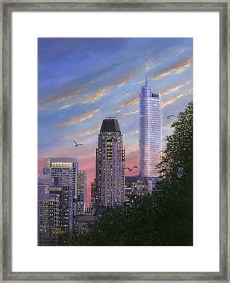Evening Flight Framed Print by Doug Kreuger