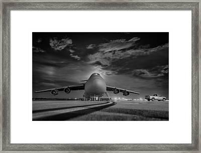 Evening Flight Framed Print by Mountain Dreams