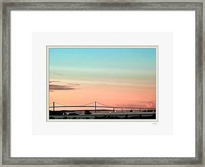 Evening Glow Framed Print by Tom Prendergast
