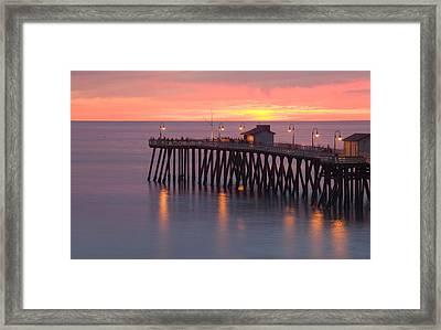 Evening Light San Clemente Framed Print by Cliff Wassmann