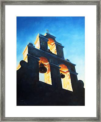 Evening Mission Framed Print by Scott Alcorn