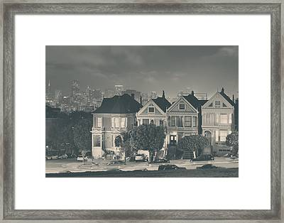 Evening Rendezvous Framed Print by Laurie Search
