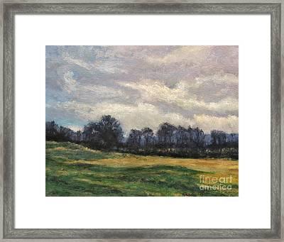 Evening Silhouette Framed Print by Gregory Arnett