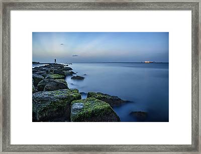 Evening Stillness Framed Print by Thomas Zimmerman