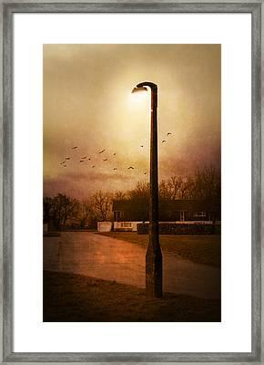 Evening Street Framed Print by Svetlana Sewell