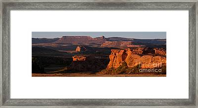 Evening Sun Framed Print by Steven Reed
