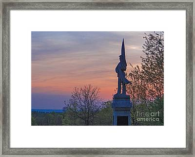 Evening Valor Framed Print by Mike Griffiths