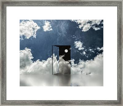 Event Horizon Framed Print by Dave Quince
