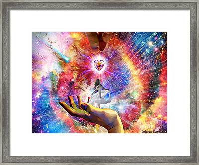 Ever Lasting Love Framed Print by Dolores Develde