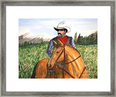 Every Day Is Monday  Framed Print by Larry Lamb