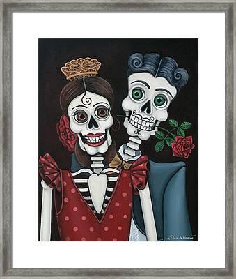 Every Juan Loves Carmen Framed Print by Victoria De Almeida