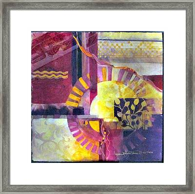 Every Piece Of Art Has The Character Of The Artist Framed Print by Patricia Mayhew Hamm