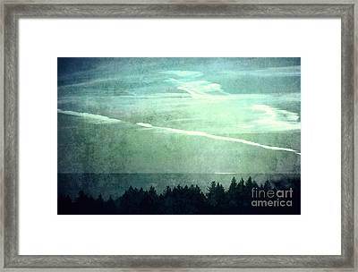 Every Planet We Reach Is Dead Framed Print by Kyle Walker