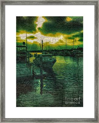 Every Port Framed Print by Cheryl Young