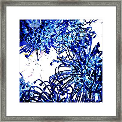 Everyday Abstract 18 Framed Print by Nancy E Stein