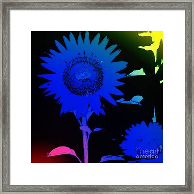 Everyday Abstract 28 Framed Print by Nancy E Stein