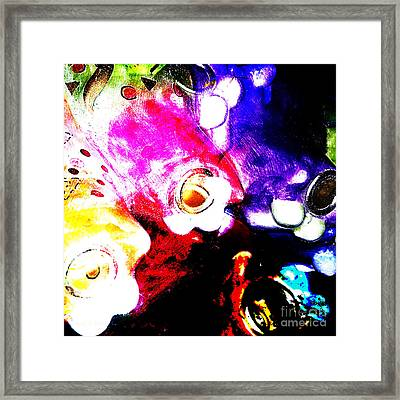 Everyday Abstract 41 Framed Print by Nancy E Stein