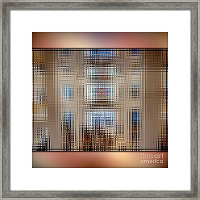 Everyday Clothes For The Everyday Person Framed Print by Beverly Claire Kaiya