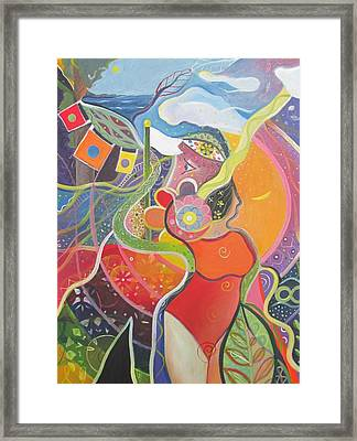 Everything All The Time Framed Print by Helena Tiainen