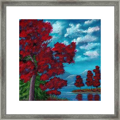 Everything Autumn Framed Print by Anastasiya Malakhova